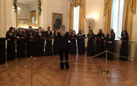 RM Madrigals perform at the White House
