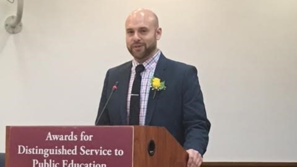 Nicholas Saadipour received an MCPS Distinguished Service Award in May 2017.