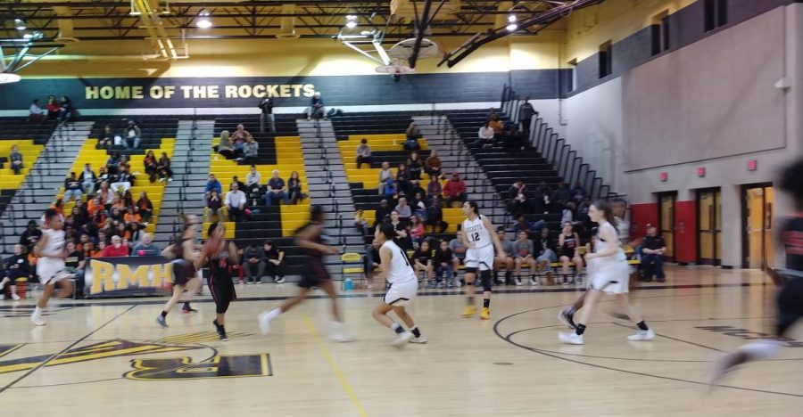 Girls basketball falls to rival Rockville