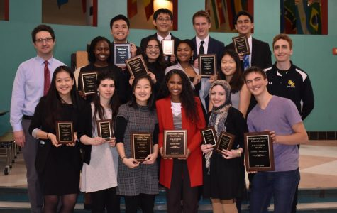 RM debate retains the county champion title after winning the most number of rounds overall.