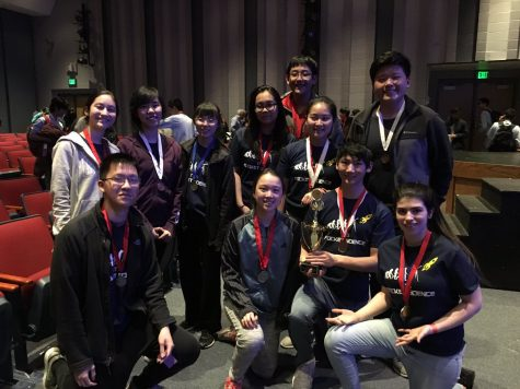 Science Olympiad team takes second place at regionals