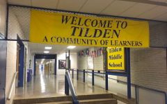Monteleone shares his experience at Tilden Middle School