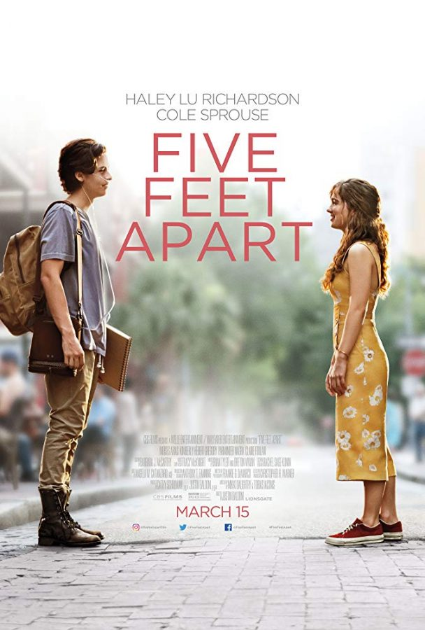 %22Five+Feet+Apart%22+details+the+struggles+of+cystic+fibrosis.+Photo+courtesy+of+IMDb.