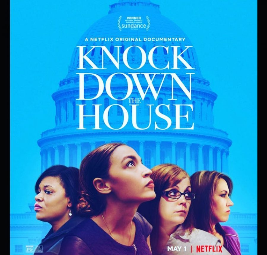%22Knock+Down+the+House%22+follows+the+congressional+campaigns+of+four+Democrat+women%3A+Alexandria+Ocasio-Cortez%2C+Amy+Vilela%2C+Cori+Bush%2C+and+Paula+Jean+Swearengin.
