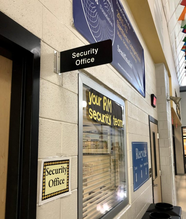 The security office at RM.