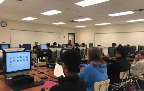 Computer Science classes offer ample opportunity for students