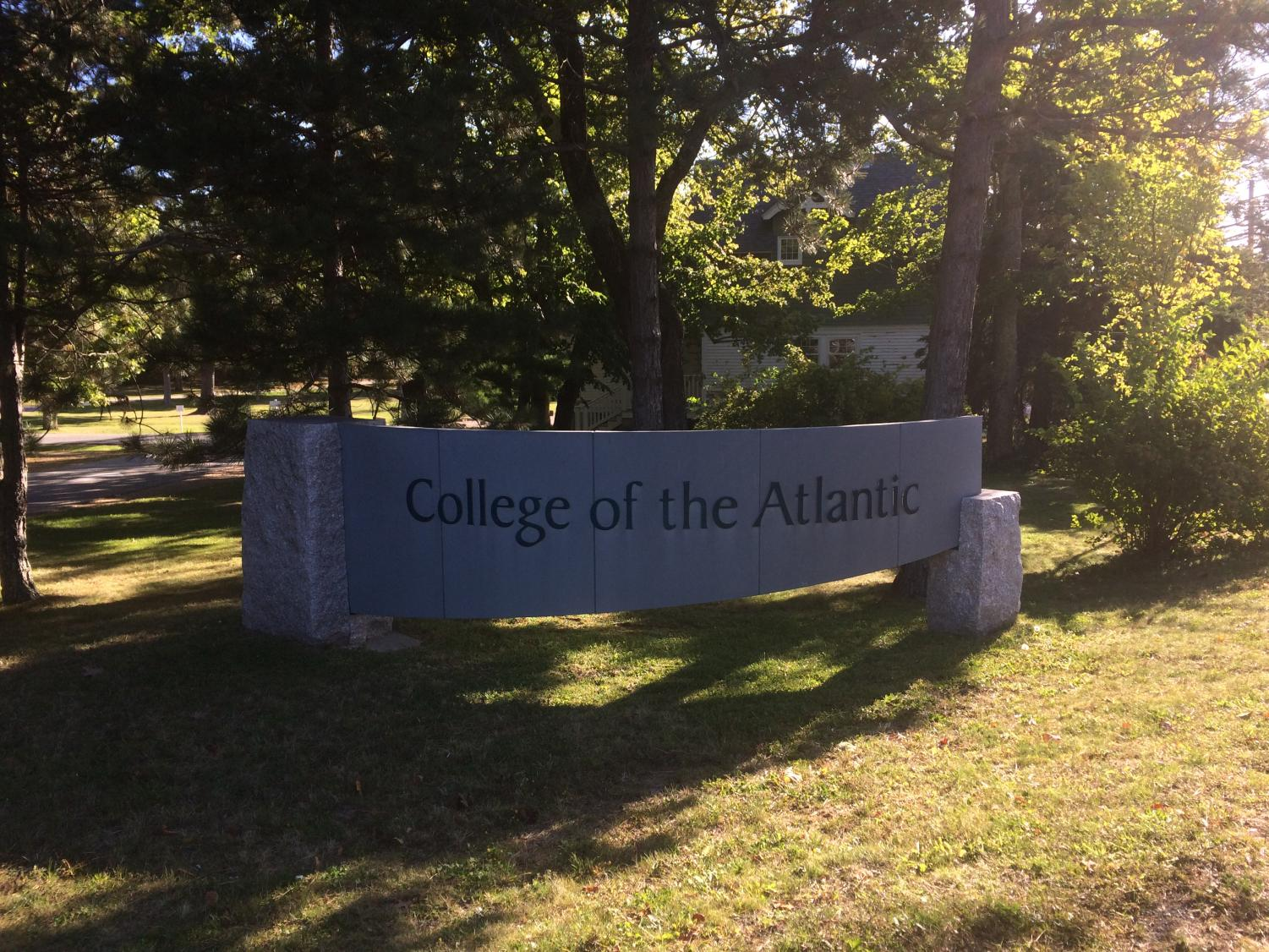 College of the Atlantic in Bar Harbor, Maine, offered a fly-in program from Oct. 3 to Oct. 6.