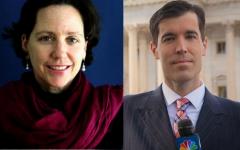 Scott MacFarlane and Corinne Dufka share journalistic expertise