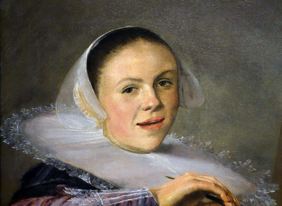 Dutch Golden Age painter Judith Leyster's most widely recognized work is a radically casual self portait.