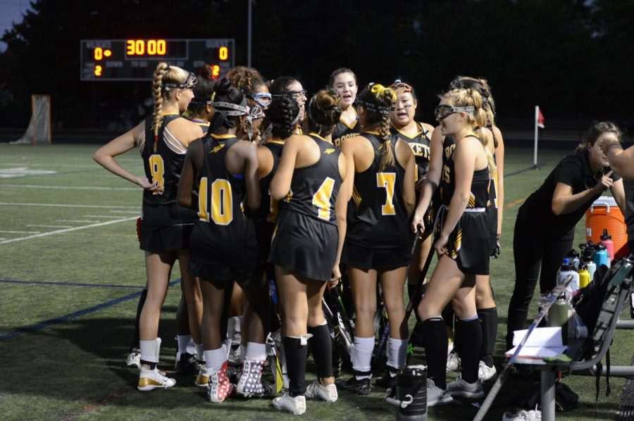 The RM Field Hockey team ended their regular season with a record of 6-6.