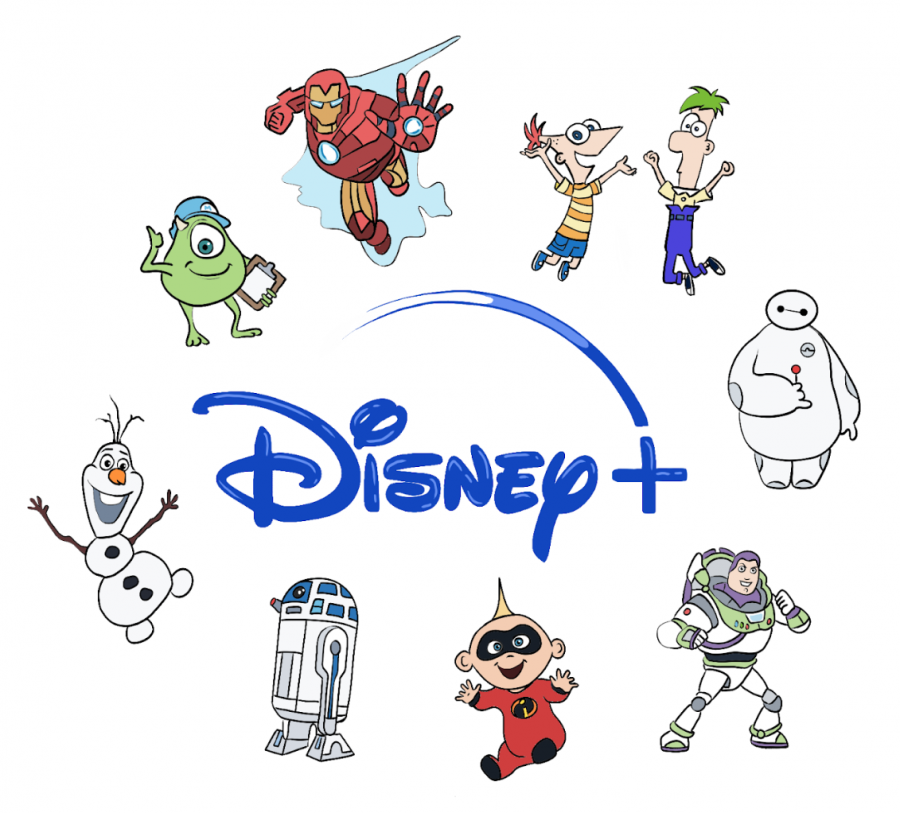 Disney+Plus+offers+subscribers+access+to+exclusive+content%2C+including+new+Marvel+and+Star+Wars+TV+shows.
