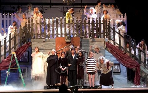 Over 200 students put in countless hours to put on the musical, <i>The Addams Family</i>.