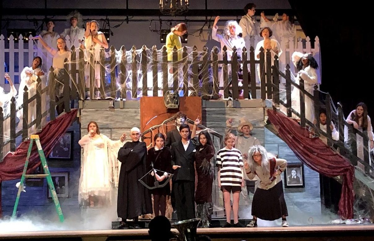 Over 200 students put in countless hours to put on the musical, The Addams Family.