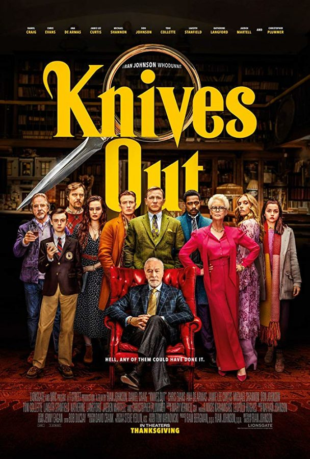 """Knives Out"": A sharp-witted murder mystery"