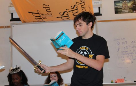 Photo of the Day: A Performance of Hamlet in English Class