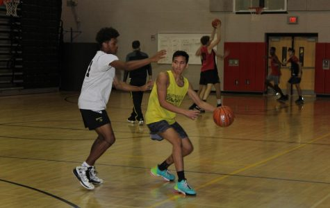 Photo of the day: Boys Basketball Practice
