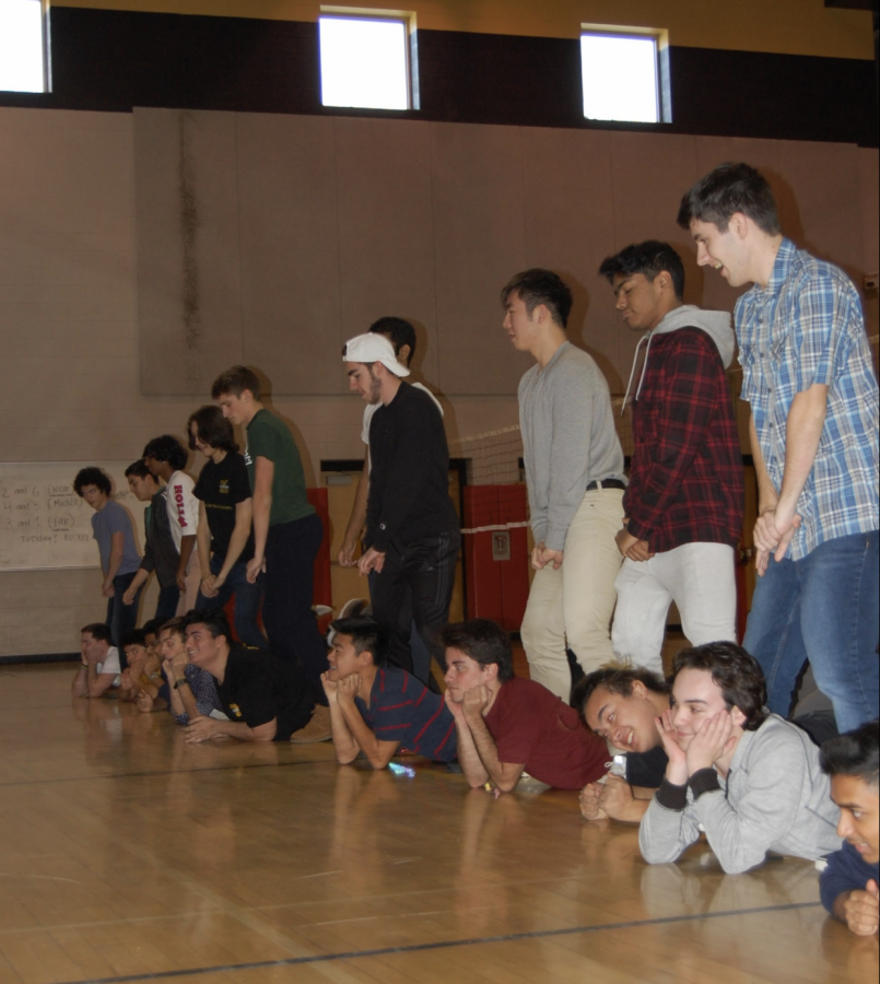 Photo of the Day: Winter Boms Practice