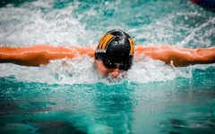 Senior Chris Ma has been one of the most dominant swimmers in all of Maryland.