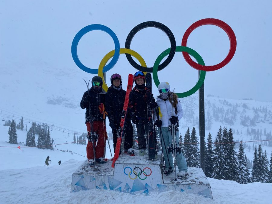 Freshman Hannah Heifetz skied in Canada with her family during winter break, and she even met two Olympic skiers.
