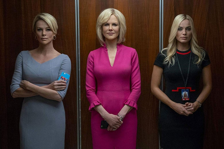 Charlize Theron, Nicole Kidman, and Margot Robbie deliver outstanding performances, but the film's storyline does not do the characters justice.