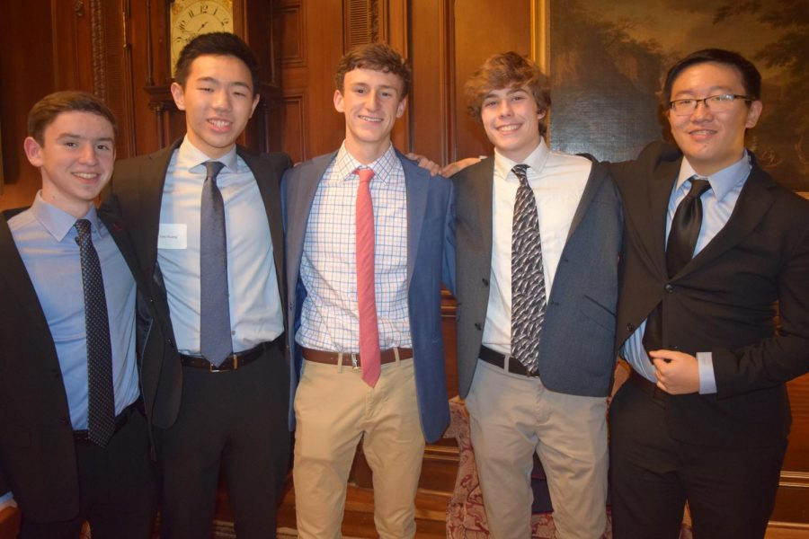 The five teammates have worked together since middle school. They placed ninth in the 2019 National History Day competition.