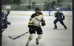 Hockey skates into winter