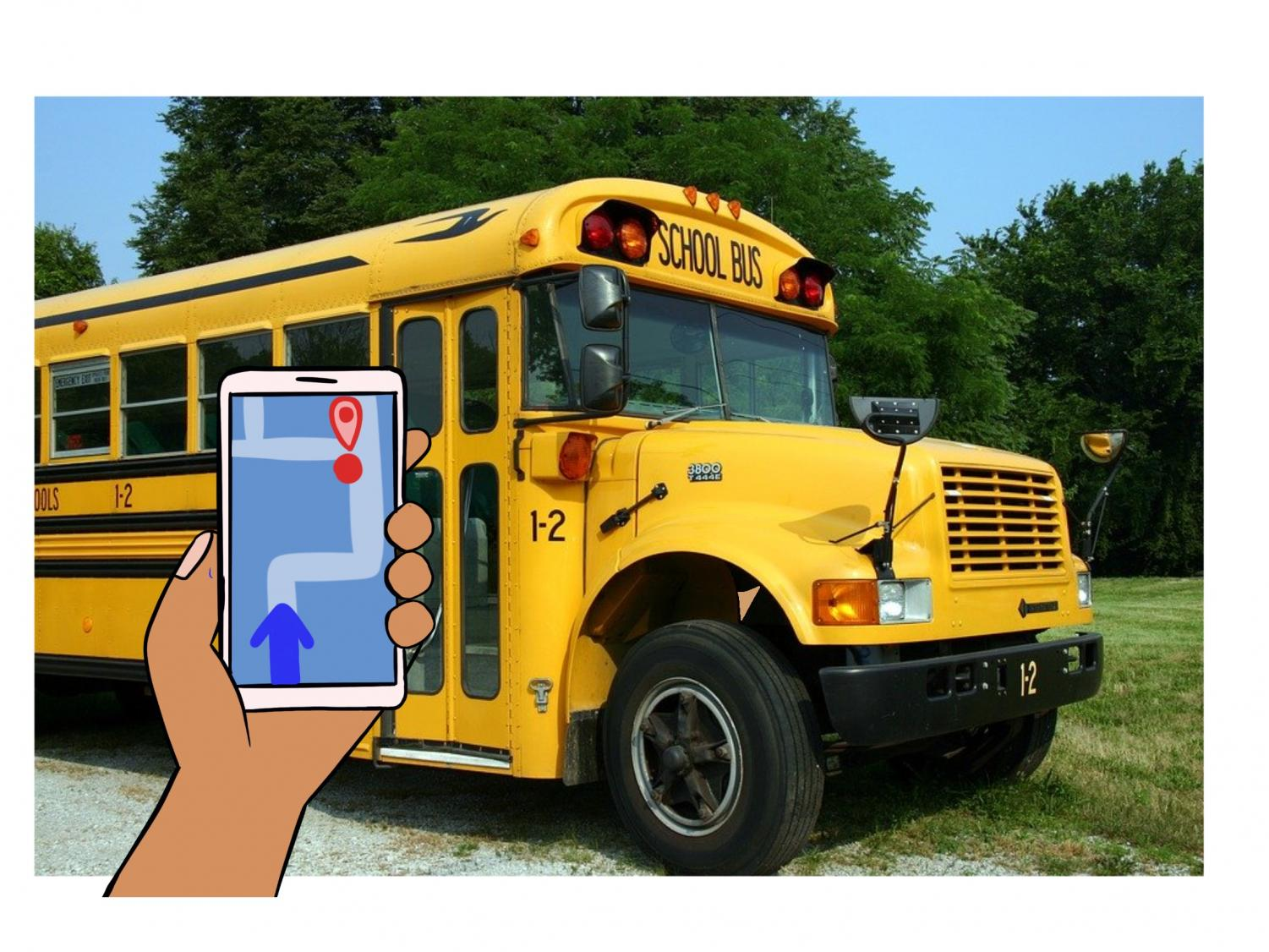Superintendent Smith's bus app proposal can save time for students.