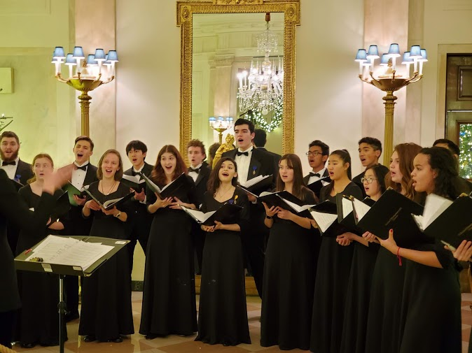 Madrigals invited to sing at White House