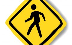 Pedestrian safety remains paramount among students