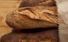The Maillard reaction is responsible for the browning and flavor compounds in many foods, including bread.