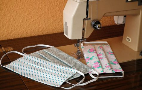 Sewing masks from home is one way to continue volunteering during the coronavirus pandemic.