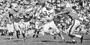Mike Curtis began his career at Richard Montgomery, later attending Duke and then winning a Super Bowl with the Baltimore Colts in 1971.