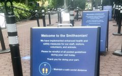 The Smithsonian has reopened a selection of its museums with posted signs and pandemic-related measures to maintain safety and precaution.
