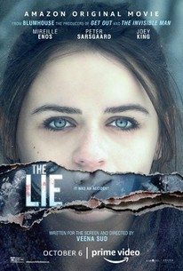 """The Lie,"" released on Oct. 6, 2020 by Amazon Studios, is a psychological horror film about a man and his wife who fall into a web of lies to cover up their teenage daughter"