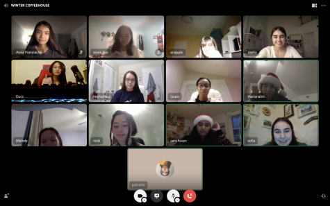 The Fine Lines Winter Coffeehouse this year was held virtually over Discord, an online messaging and video calling platform.