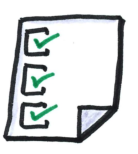 Creating a routine or to do list helps some students stay motivated to get through the day.
