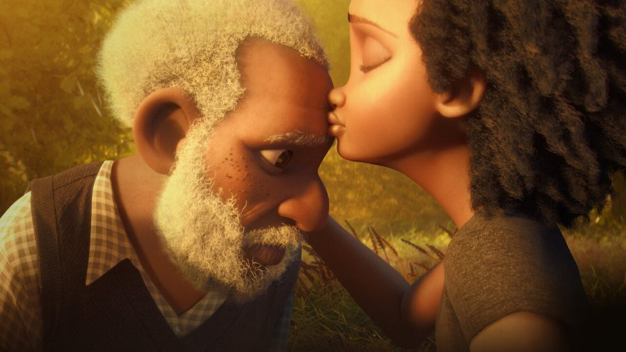 Released on Dec. 11, 2020, Netlixs animated short film Canvas explores the heartbreak of a former artist after the loss of his wife.