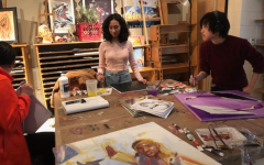 The 2020 RM seniors work devotedly on their art pieces. The 2021 Senior Art Show will look different this year due to the pandemic, with all activities shifted virtually.