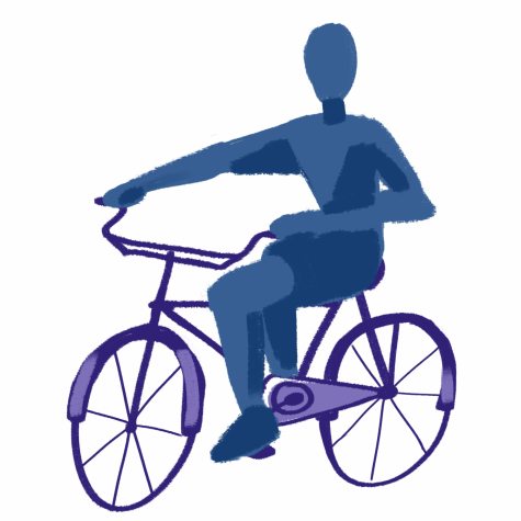 Taking alternative modes of transportation, such as riding your bike, is a great way to help protect the Earth!