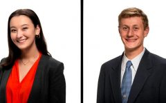 RM juniors Hana O'Looney and Henry Kaye are the finalists for this year's SMOB elections, which will be held on April 22-23.