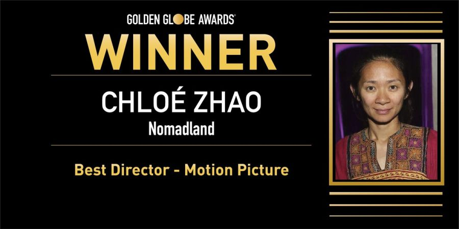 On+Feb.+28%2C+Chlo%C3%A9+Zhao+made+history+as+the+first+Asian+woman+and+second+woman+ever+to+win+Best+Director+for+her+2020+film+Nomadland.