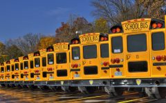 MCPS has recently signed a $1.3 million, 14-year contract with Highland Electric Transportation for the gradual electrification of its fleet of 1,400 school buses.