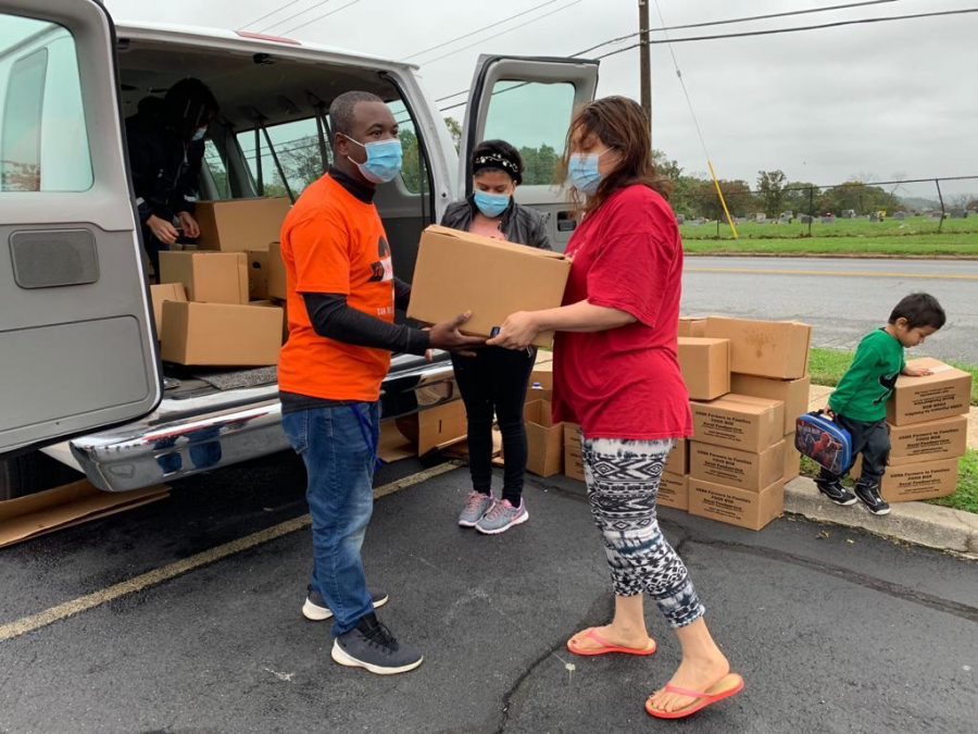 To help families struggling to put food on the table, nonprofit organizations are providing weekly food distributions to the community.