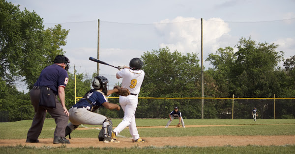The RM Varsity baseball team faced off against Magruder on May 17th and powered its way to an 11 to 2 victory.