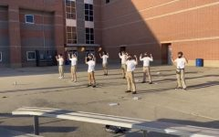 The Mr. RM candidates are pictured above practicing their opening dance sequence. Photo by Ayellet Aharonov.
