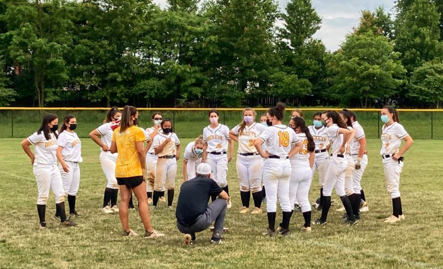 The RM Softball team finished the regular season 7-2, scoring an astounding 67 runs over the course of its last 4 games. The team