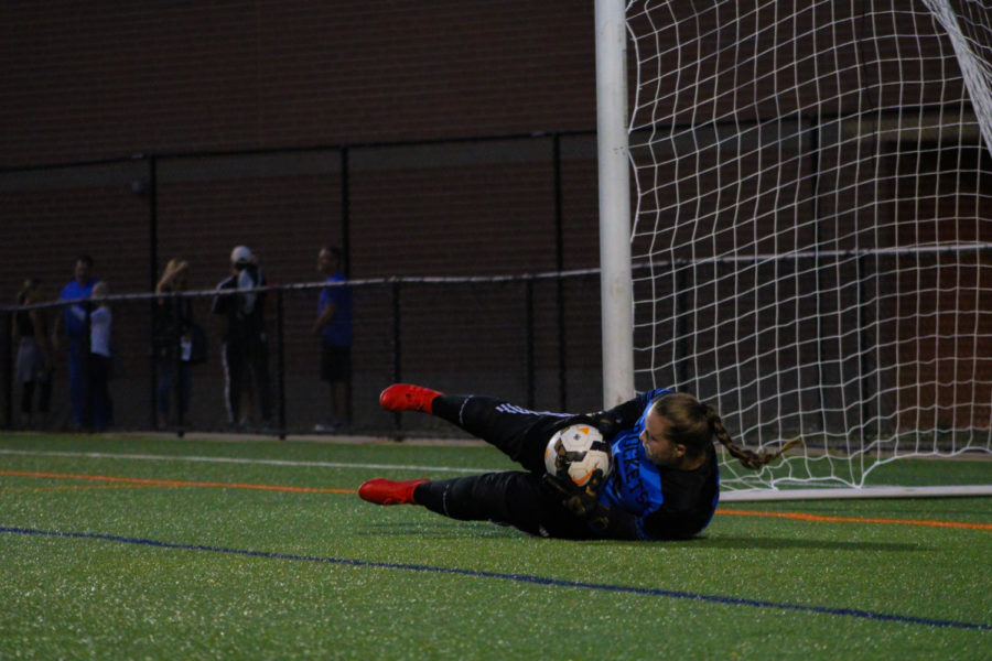 Photo of the Day: Varsity girls soccer faces first loss of the season