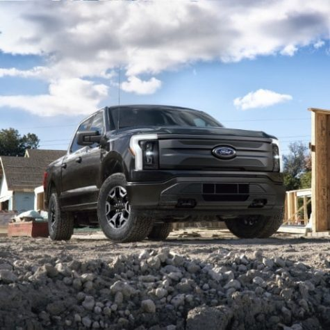 Ford moves the automobile industry forward with the release of an electric truck: The F-150 Lightning. Prompting other major car brands to follow suit.