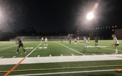 """Field Hockey Wins Senior Night: The Varsity Field Hockey team faces off Kennedy for senior night. The seniors were given a ceremonial farewell and later celebrated a 16-0 win. """"I'm really proud of the seniors' effort and I'm sad to see them go. I wish them the best for their futures,"""" Coach Sarah Montesino said."""